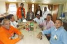 Almoço a bordo para comemorar viagem inaugural do navio Sérgio Buarque de Holanda - 13.08.2012